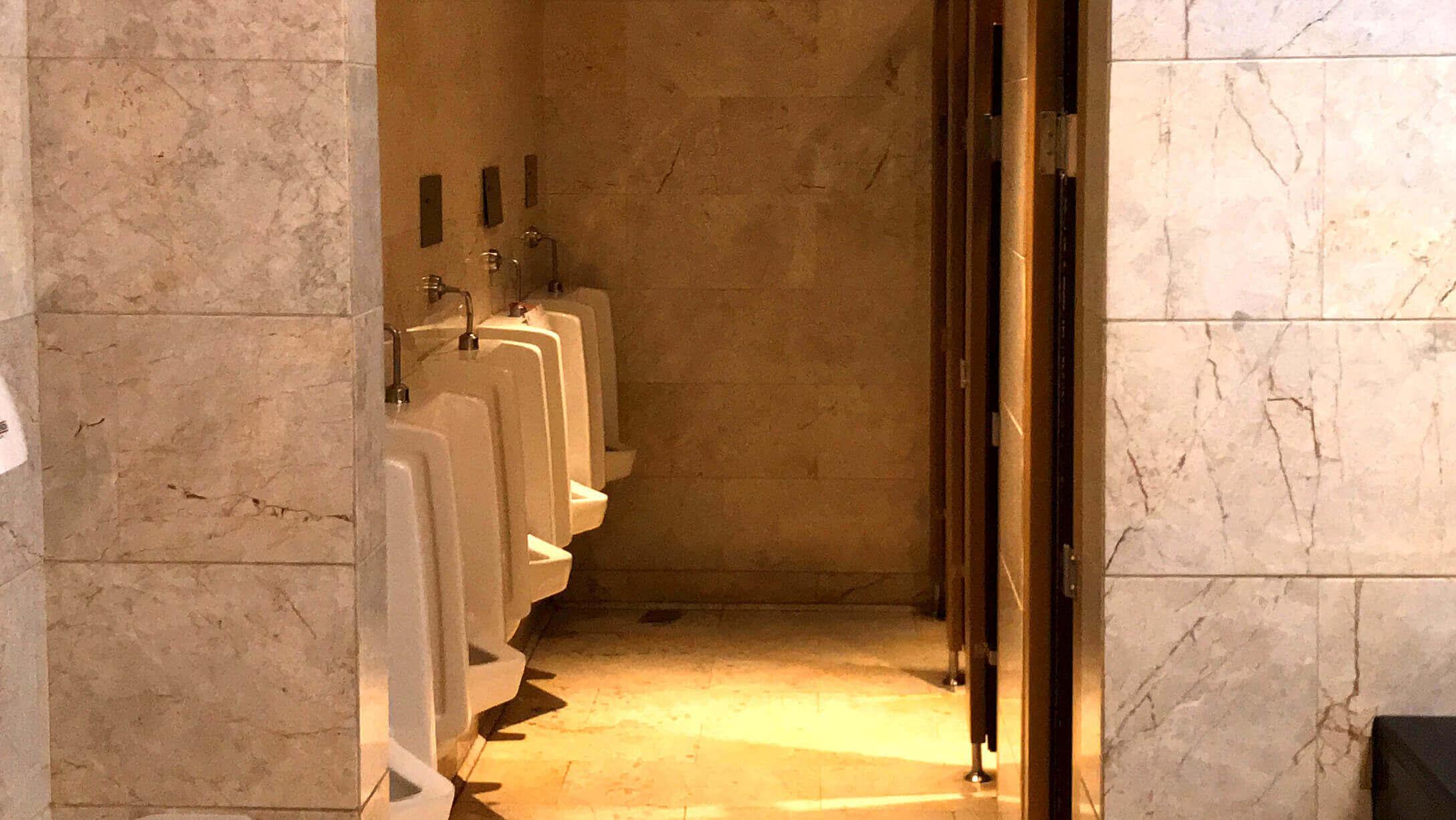 オフィス Mercury Tower 男性トイレの様子