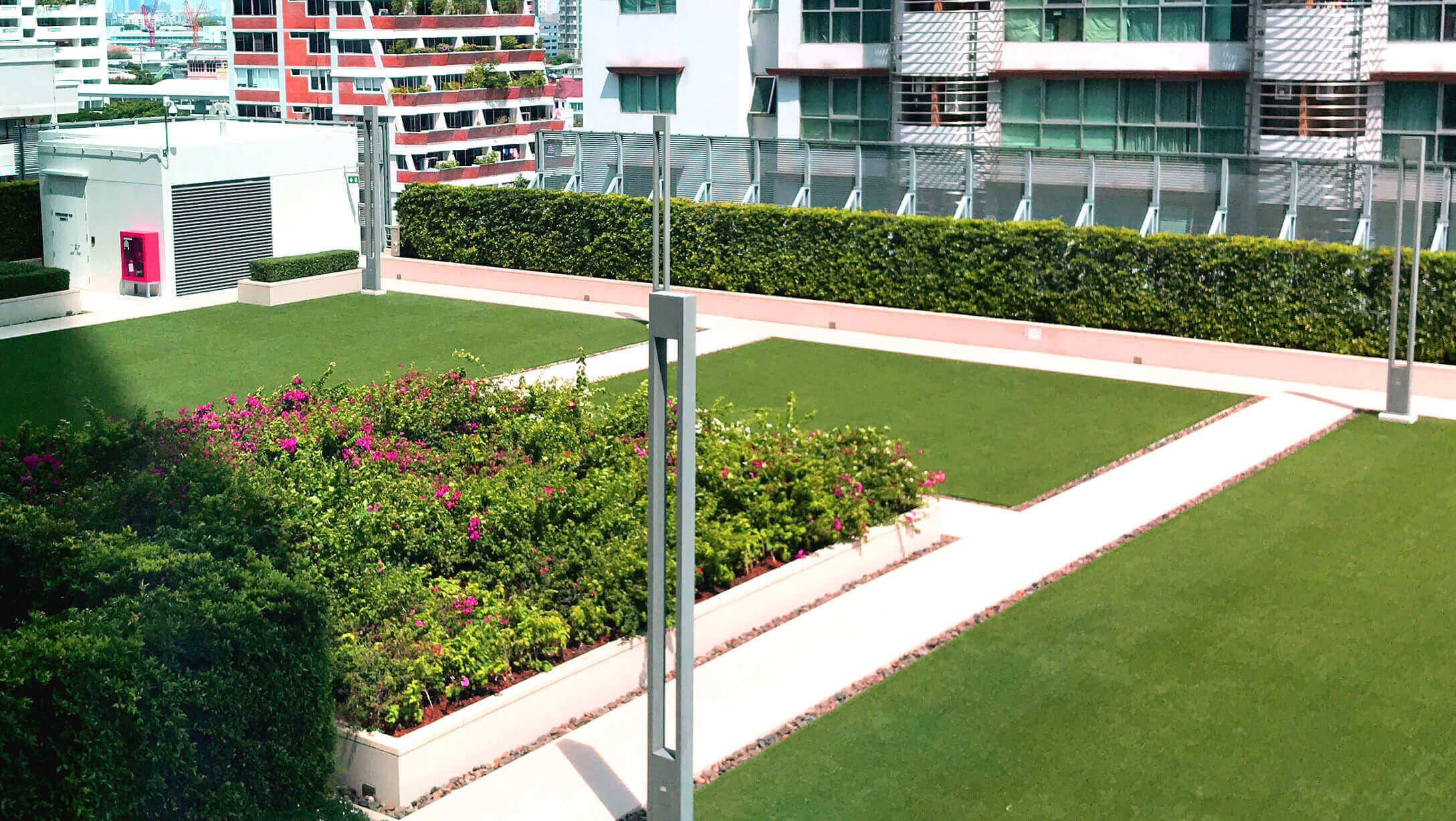 バンコク オフィス物件 AIA Sathorn Tower 窓からの景色