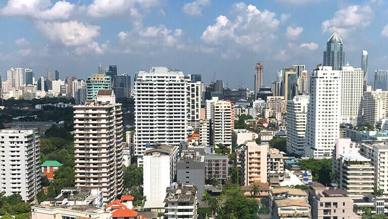 アソーク オフィス エクスチェンジタワー 窓からの景色