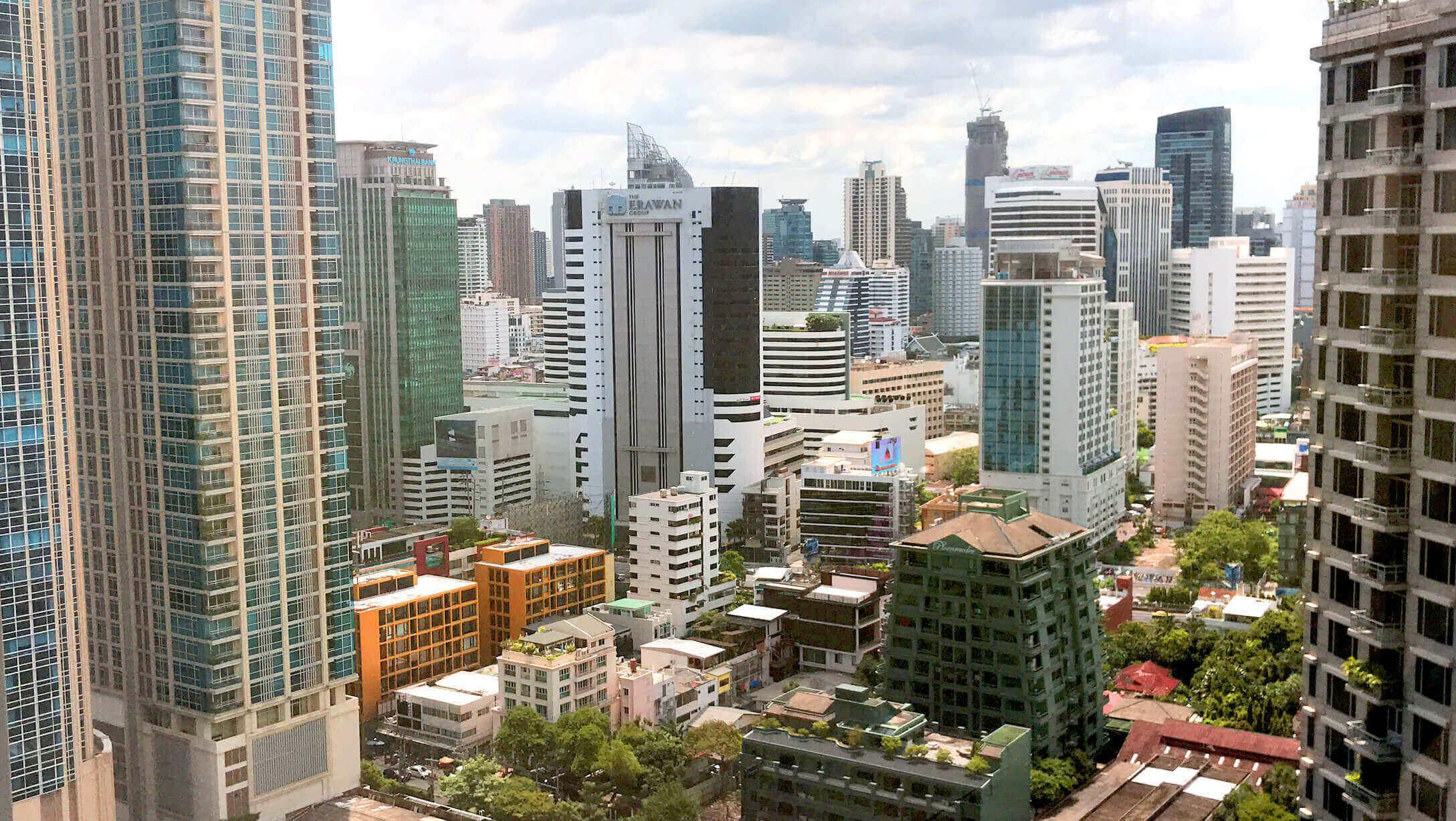 プルンチットオフィス物件M Thai Tower 景色の様子