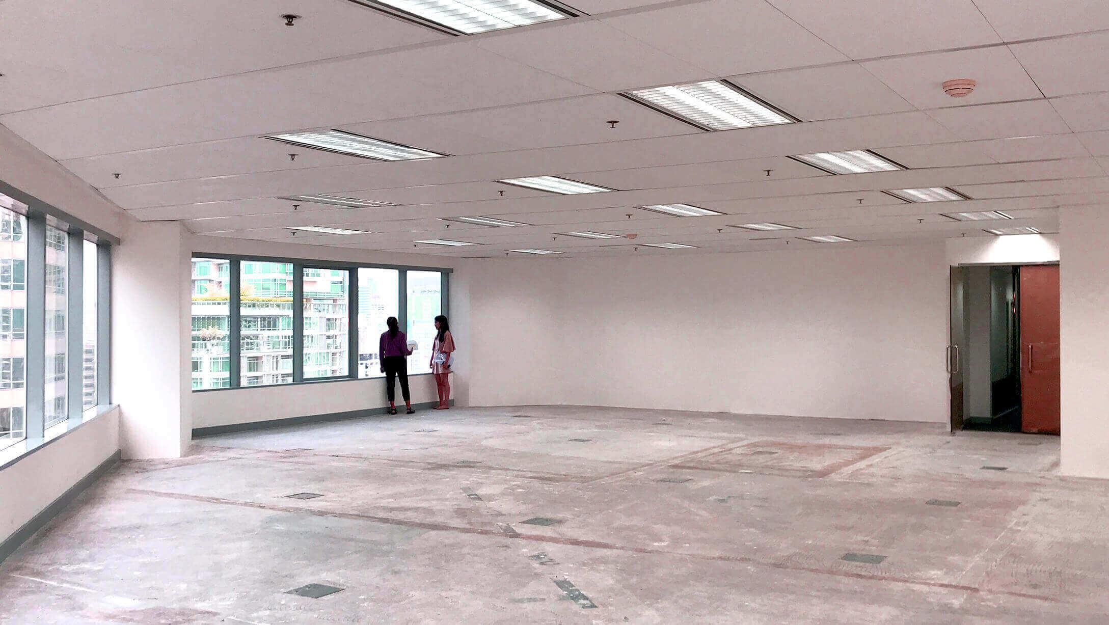 プルンチットオフィス物件M Thai Tower オフィス内の様子