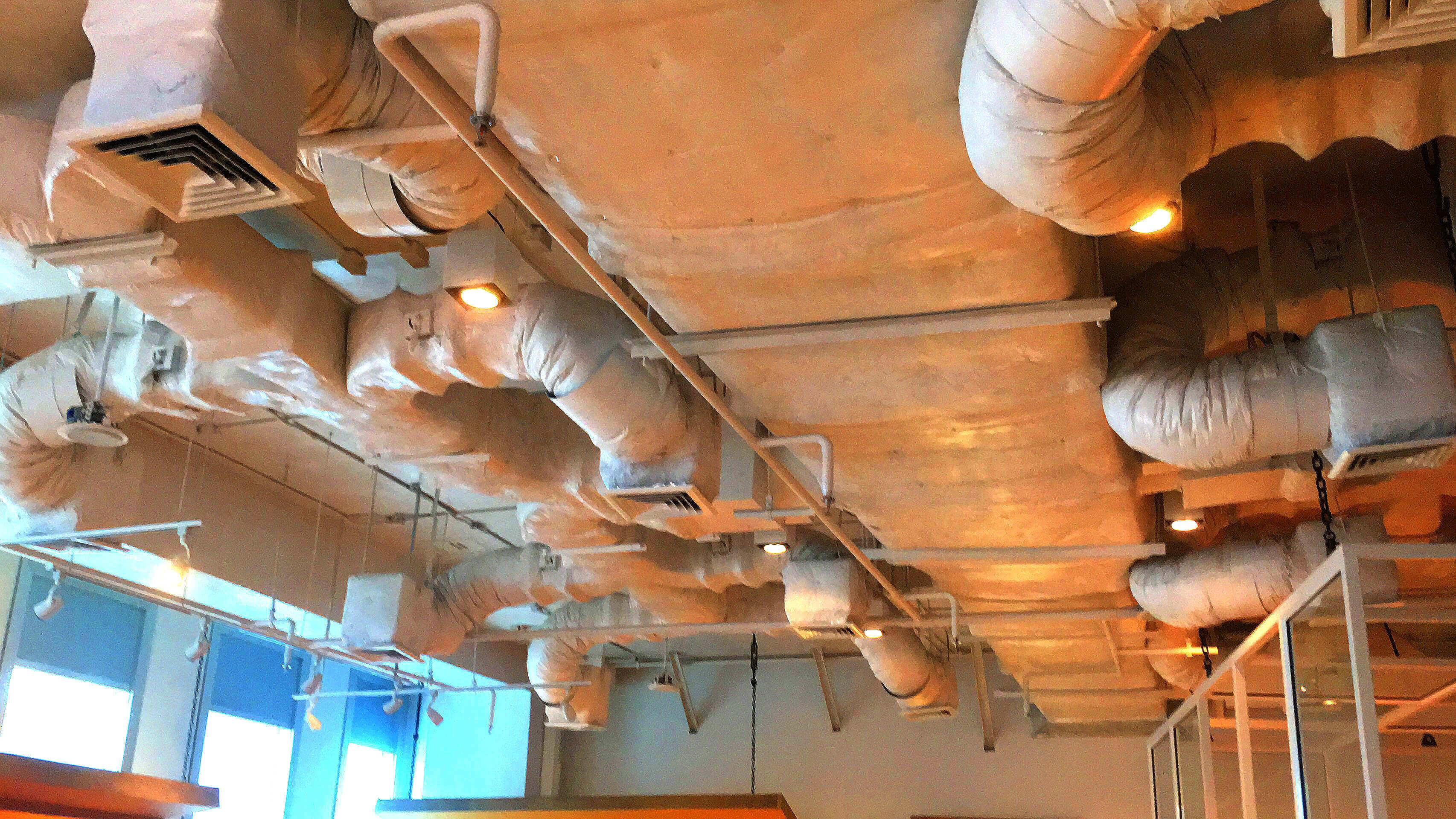 バンナー BHIRAJ Tower at BITEC オフィス物件 天井の様子