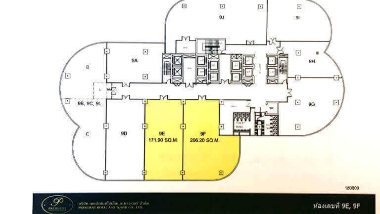 President Towerの図面画像